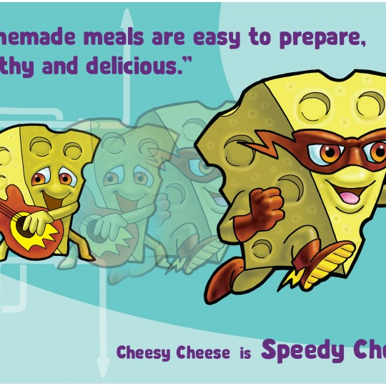 A2 Poster Speedy Cheese